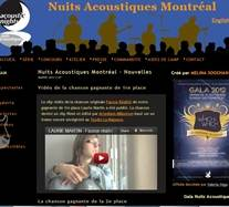 Nuits Acoustiques Montréal - www.nuitsacoustiquesmontreal.ca